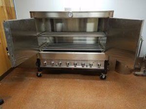 Ovens - Food grade stainless steel table